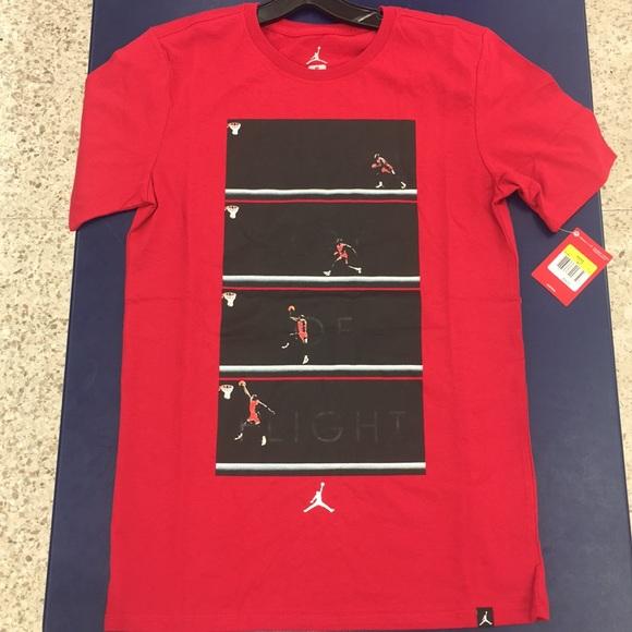 2f1b8f342830 The Art Of Flight Air Jordan Black Red White Shirt